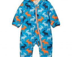 HatleyBlue Moose Puffer Snowsuit9-12 months