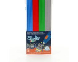 3Doodler, Primary Pow! refill (Koala Grey, Ocean Blue, Cherry Red, Spring Green)