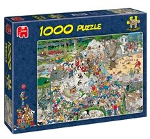 Pussel 1000 Bitar - The Zoo