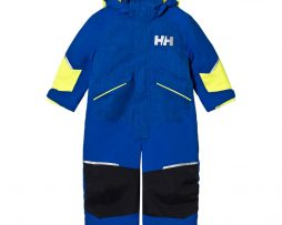 Helly HansenKids Snowfall Ins Ski Suit Overall Blå8 years