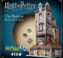 Wrebbit 3D Pussel The Burrow - Weasley Family Home