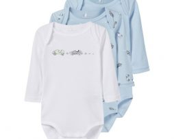 name it Body 3-pack Cashmere Blue