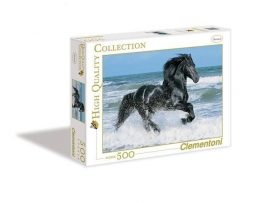 Clementoni - High Quality Collection Pussel - Black Horse 500-bitar