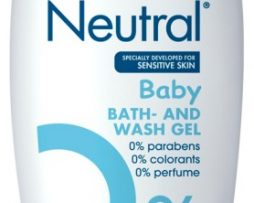 Neutral Baby Bath & Wash Gel 250 ml