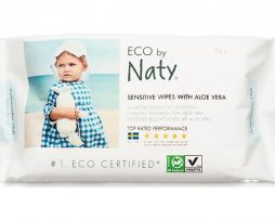 Naty Sensitive Wipes with Aloe Vera 56 st
