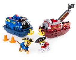 Paw Patrol - Pirate - Fordon Marshall and Chase 2-pack