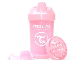 Twistshake Sippy Cup 300 ml (Pastell rosa)