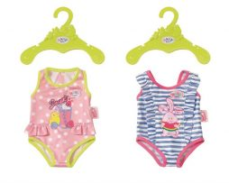 Baby Born - Swimsuits Collection - Baddräkt (Randig)