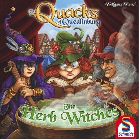The Quacks of Quedlinburg - Herb Witches expansion (Eng)
