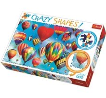 Pussel 600 Bitar Colorful Balloons