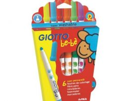 Giotto be-bè Tuschpennor 6-pack