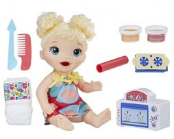 Baby Alive - Snackin' Treats Baby (Blonde Curly Hair)