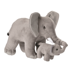 Wild Republic Mom & Baby Elefant 38 cm