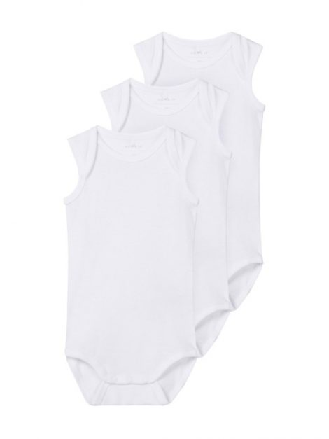 name it 3-pack Body Tank (Bright White)