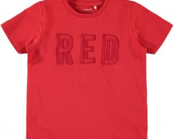 name it Damony T-shirt (High Risk Red)