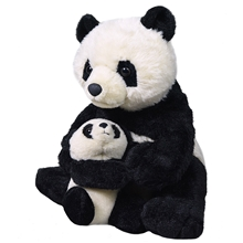 Wild Republic Mom & Baby Panda 38 cm