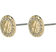 14204-2003 Compassion Stud Earrings Gold Plated 1 set